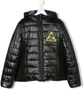 Fendi chest patch padded jacket