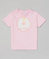 Swag Pink Blond Ballerina Personalized Tee - Infant Kids & Tween