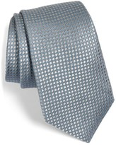 Nordstrom 'Micro Round Neat' Woven Silk Tie