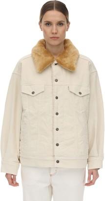 Levi's Oversize Curd Fur Jacket