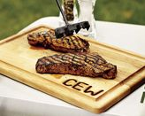 Monogrammed Steak Brand & Carving Board