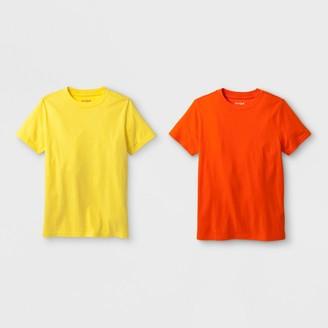 Cat & Jack Boys' 2pk Short Sleeve T-Shirt - Cat & JackTM