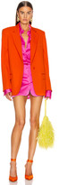ATTICO Blazer Jacket in Orange | FWRD