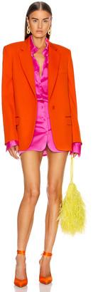 ATTICO Blazer Jacket in Orange   FWRD