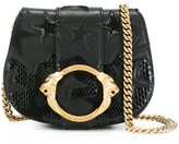 Roberto Cavalli star patch shoulder bag