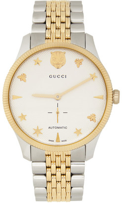Gucci Silver G-Timeless 40mm Watch