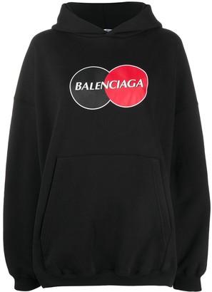 Balenciaga Uniform Large Fit hoodie
