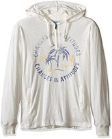 Margaritaville Men's 1/4 Zip Lightweight Beach Hoodie