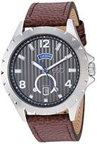 ESQ Men's Stainless Steel Watch w/ Leather Strap FE/0070