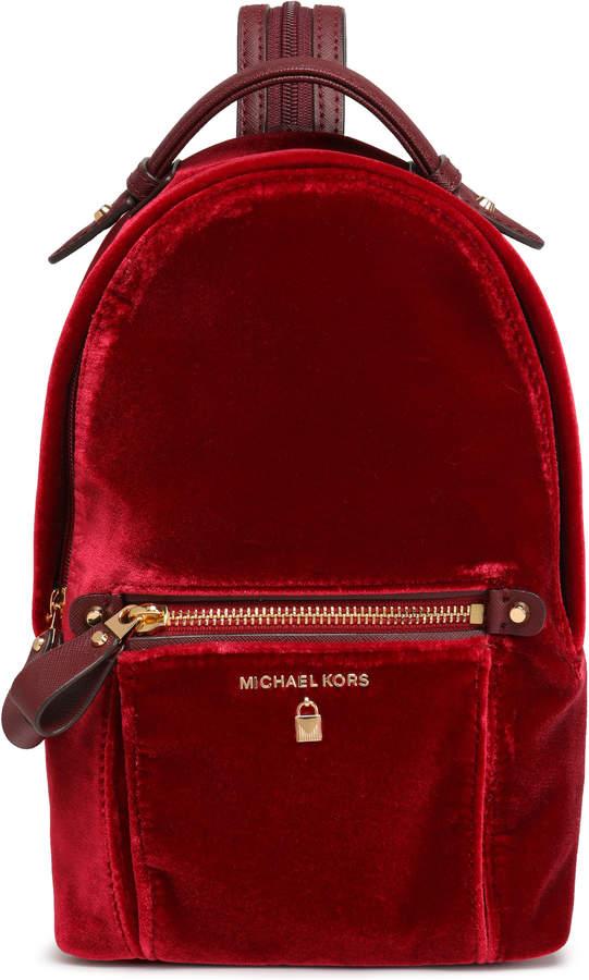 MICHAEL Michael Kors Velvet Backpack
