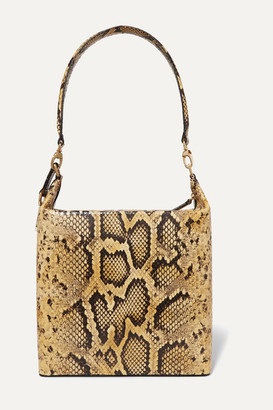 REJINA PYO Lucie Snake-effect Leather Shoulder Bag