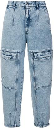 Stella McCartney front zipped jeans
