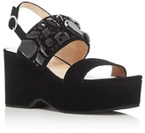 Marc Jacobs Lily Embellished Wedge Platform Sandals