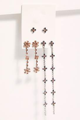 Free People Daisy Stud Set by Free People, Olivine, One Size