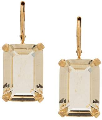 Wouters & Hendrix Citrine Crystal drop earrings