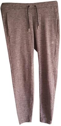 Asics Grey Spandex Trousers