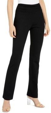INC International Concepts Inc Petite Ruched-Waist Pull-On Pants, Created for Macy's