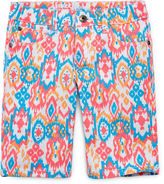 Arizona Print Bermuda Shorts - Girls 7-16 and Plus