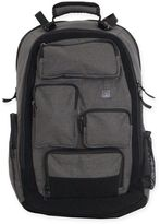 Diaper Dude Canvas Pocket Pack Diaper Bag in Grey
