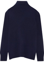 Equipment Oscar Cashmere Turtleneck Sweater - Navy