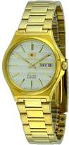 Orient #FAB02003C Men's 3 Star Tone Stainless Steel Champagne Dial Automatic Watch