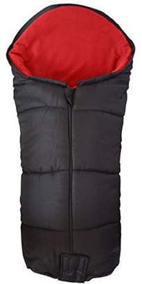 N. Deluxe Footmuff/Cosy Toes Compatible with Out About Nipper Single 360 Pushchair Red