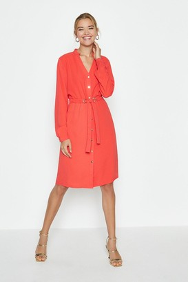 Coast Popper Front Shirt Dress
