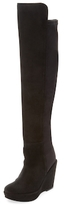 Over The Knee Wedge Boot