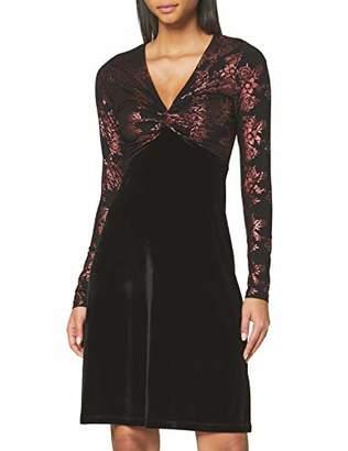 Joe Browns Womens Metallic Florals Velvet Party Dress