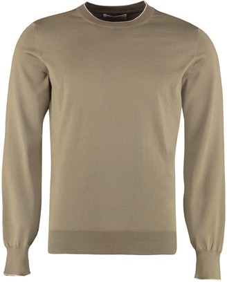 Brunello Cucinelli Long-sleeved Crew-neck Sweater