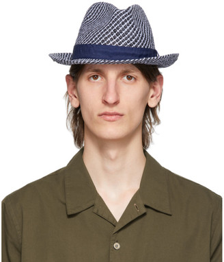 Paul Smith Navy Trilby Hat