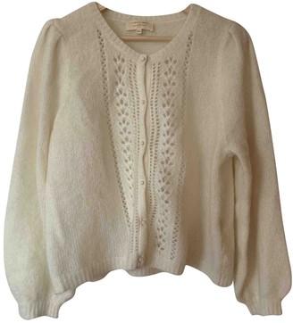 Sézane Sezane Spring Summer 2020 White Wool Knitwear for Women