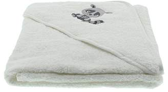Pippi Baby Hooded Towel W.embroidery Dressing Gown,One (Size:83X83)
