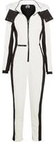 Topshop Sno - Starman Faux Fur-trimmed Hooded Ski Jumpsuit - White