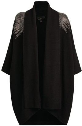 William Sharp Cashmere Crystal-Embellished Cardigan