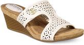 Giani Bernini Brezaa Slide Sandals, Created for Macy's