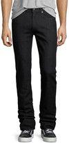 Bugatchi Five-Pocket Straight-Leg Jeans, Midnight