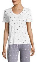 Monrow Boxy V-neck T-Shirt