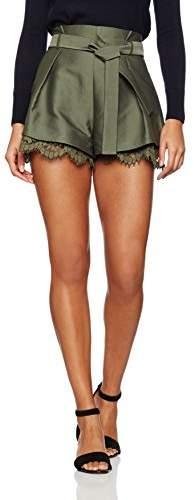 Keepsake Women's Heartbreaker Shorts,6 (Manufacturer Size:X-Small)