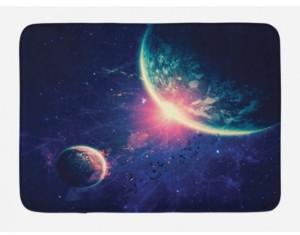 Ambesonne Galaxy Bath Mat Bedding