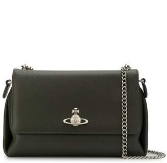 Vivienne Westwood logo shoulder bag