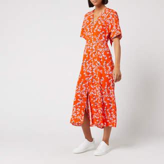 Whistles Women's Digital Daisy Print Zelena Dress