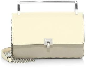 Botkier Small Lennox Colorblock Leather Top Handle Bag