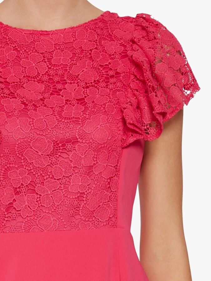 Thumbnail for your product : Gina Bacconi Brandi Moss Crepe Dress