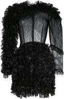Christopher Kane mini ruffle dress