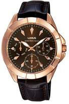 Lorus Watches Women's Fashion Analog Quartz Leather RP636CX9