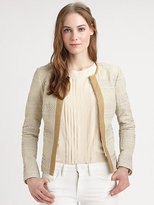 Tory Burch Leather Autumn Jacket