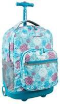 J World JWorld Sunrise Rolling Backpack - Dandelion