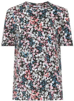Erdem Hettie floral cotton-jersey T-shirt