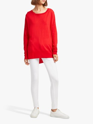 French Connection Spring Light Jumper, Fine Coral